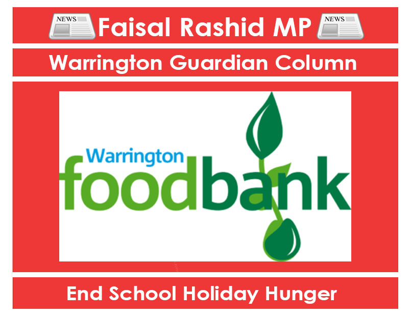 Wg Column Its Time To Put An End To School Holiday Hunger
