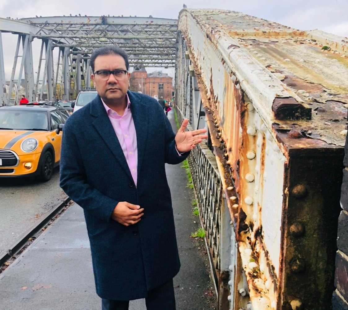 Faisal urges Peel Ports to work with Warrington Borough Council to resolve swing bridge issues 'swiftly and smoothly'