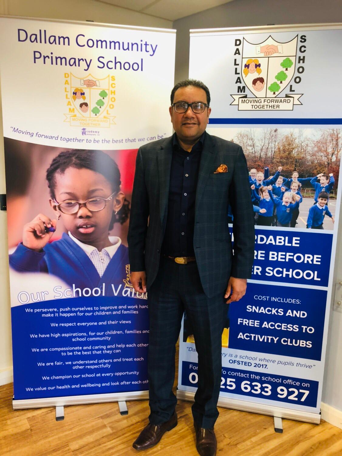 Faisal Rashid MP visits Dallam Community Primary School